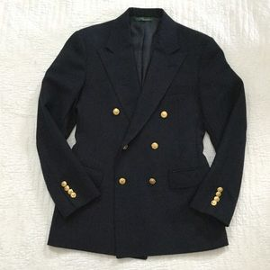 Polo by Ralph Lauren Jackets & Coats - Vintage Polo RL Made in USA Double Breasted Blazer